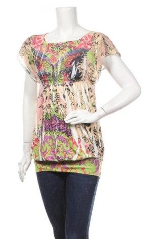 Дамска блуза Fashion Elle, Размер S, Цвят Многоцветен, Цена 5,36лв.