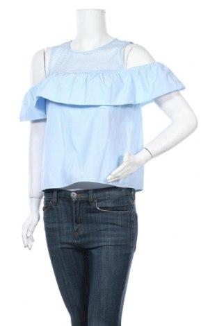 Γυναικεία μπλούζα Fb Sister, Μέγεθος M, Χρώμα Μπλέ, 55% πολυεστέρας, 45% βαμβάκι, Τιμή 9,94€