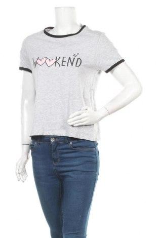 Γυναικεία μπλούζα Fb Sister, Μέγεθος XL, Χρώμα Γκρί, 95% βαμβάκι, 5% βισκόζη, Τιμή 16,89€