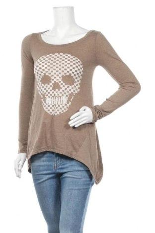 Γυναικεία μπλούζα Fishbone, Μέγεθος XS, Χρώμα Καφέ, 65% βαμβάκι, 35% πολυεστέρας, Τιμή 9,87€