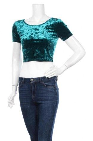 Γυναικεία μπλούζα Forever 21, Μέγεθος S, Χρώμα Πράσινο, 90% πολυεστέρας, 10% ελαστάνη, Τιμή 11,04€