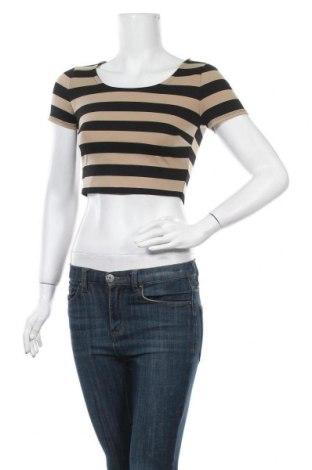 Γυναικεία μπλούζα Forever 21, Μέγεθος S, Χρώμα Καφέ, 78% βαμβάκι, 17% βισκόζη, 5% ελαστάνη, Τιμή 9,74€