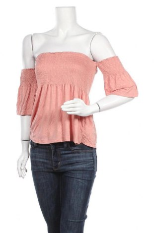 Γυναικεία μπλούζα Forever 21, Μέγεθος L, Χρώμα Ρόζ , 95% βισκόζη, 5% ελαστάνη, Τιμή 11,04€