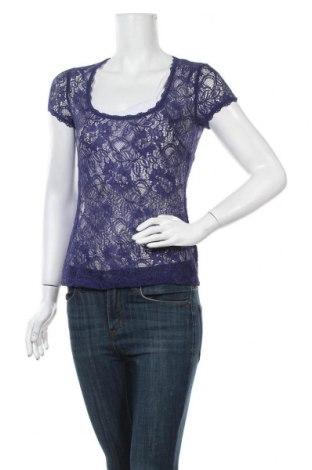 Γυναικεία μπλούζα French Connection, Μέγεθος S, Χρώμα Βιολετί, 50% πολυαμίδη, 35% βαμβάκι, 15% βισκόζη, Τιμή 13,58€