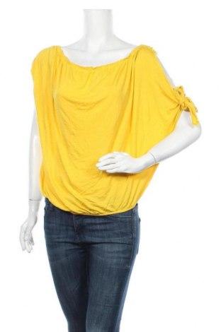 Γυναικεία μπλούζα French Connection, Μέγεθος L, Χρώμα Κίτρινο, Βισκόζη, Τιμή 16,66€