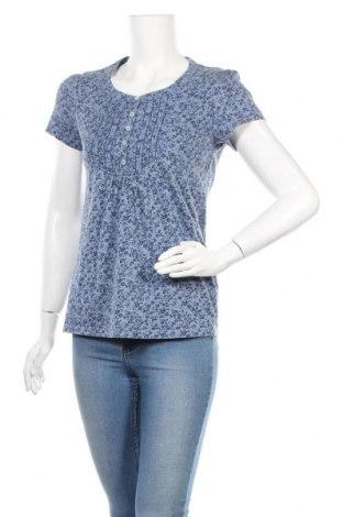 Γυναικεία μπλούζα Garden Romantic, Μέγεθος M, Χρώμα Μπλέ, Βαμβάκι, Τιμή 11,04€