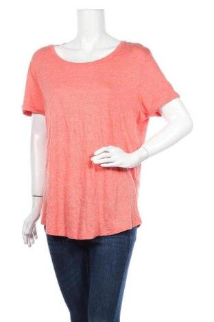 Γυναικεία μπλούζα George, Μέγεθος L, Χρώμα Ρόζ , 80% βισκόζη, 20% βαμβάκι, Τιμή 16,66€