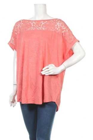 Γυναικεία μπλούζα George, Μέγεθος 3XL, Χρώμα Ρόζ , 85% βισκόζη, 15% πολυεστέρας, Τιμή 11,72€