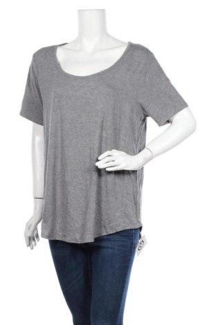 Γυναικεία μπλούζα George, Μέγεθος XL, Χρώμα Γκρί, 95% βισκόζη, 5% ελαστάνη, Τιμή 17,90€