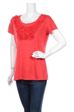 Γυναικεία μπλούζα George, Μέγεθος L, Χρώμα Κόκκινο, 60% βαμβάκι, 40% πολυεστέρας, Τιμή 17,90€