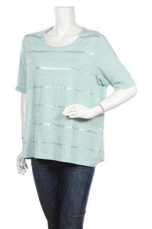 Γυναικεία μπλούζα Gerry Weber, Μέγεθος XXL, Χρώμα Πράσινο, Τιμή 20,78€