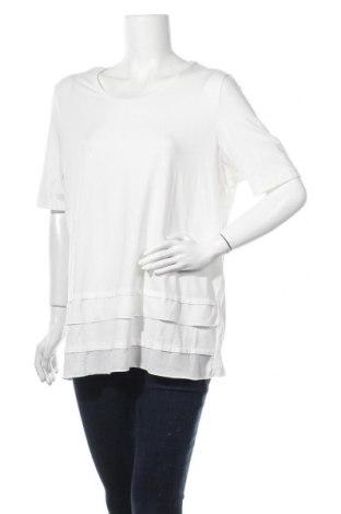 Γυναικεία μπλούζα Gerry Weber, Μέγεθος XXL, Χρώμα Λευκό, 47% μοντάλ, 47% βαμβάκι, 6% ελαστάνη, Τιμή 22,21€