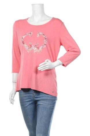 Γυναικεία μπλούζα Gerry Weber, Μέγεθος L, Χρώμα Ρόζ , 95% βισκόζη, 5% ελαστάνη, Τιμή 18,19€