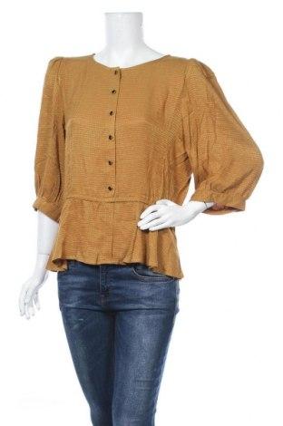 Γυναικεία μπλούζα Gestuz, Μέγεθος M, Χρώμα Κίτρινο, Βισκόζη, Τιμή 16,62€