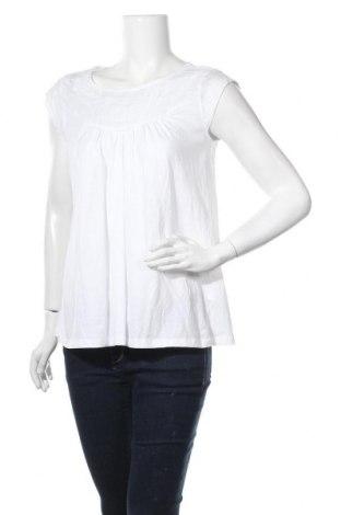 Дамска блуза Gina, Размер M, Цвят Бял, Памук, Цена 12,60лв.
