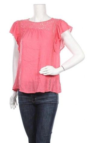 Дамска блуза Gina, Размер M, Цвят Розов, Вискоза, Цена 18,90лв.