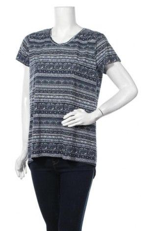Дамска блуза Gina, Размер XL, Цвят Многоцветен, 64% вискоза, 36% полиестер, Цена 13,23лв.