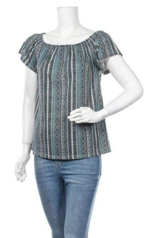 Дамска блуза Gina, Размер M, Цвят Многоцветен, 65% полиестер, 35% вискоза, Цена 16,80лв.