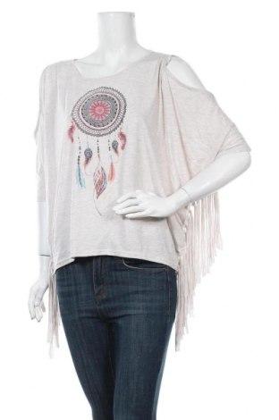 Дамска блуза Gina, Размер M, Цвят Бежов, 65% полиестер, 35% вискоза, Цена 41,90лв.