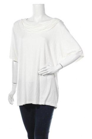 Γυναικεία μπλούζα Gina Benotti, Μέγεθος XL, Χρώμα Λευκό, 95% βισκόζη, 5% ελαστάνη, Τιμή 9,74€