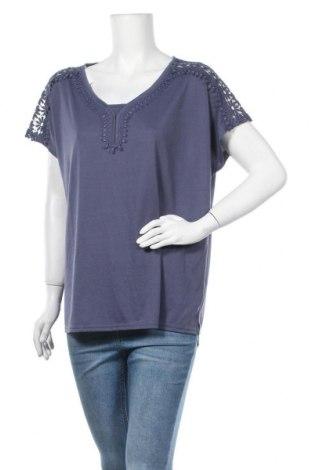 Γυναικεία μπλούζα Gina Benotti, Μέγεθος XL, Χρώμα Μπλέ, 67% πολυεστέρας, 33% βισκόζη, Τιμή 11,69€