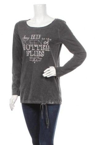 Γυναικεία μπλούζα Gina Benotti, Μέγεθος S, Χρώμα Γκρί, Βαμβάκι, Τιμή 10,39€