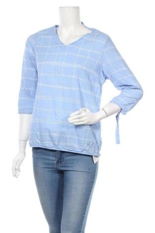 Γυναικεία μπλούζα Gina Laura, Μέγεθος M, Χρώμα Μπλέ, Βαμβάκι, Τιμή 3,41€