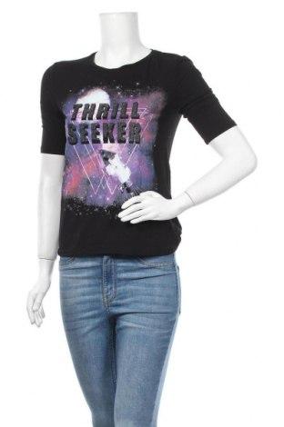Γυναικεία μπλούζα Gina Tricot, Μέγεθος XS, Χρώμα Μαύρο, 94% βισκόζη, 6% ελαστάνη, Τιμή 8,28€