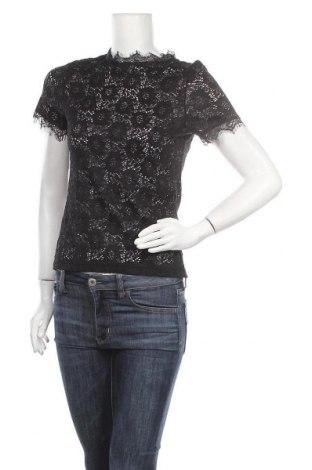 Γυναικεία μπλούζα Gina Tricot, Μέγεθος S, Χρώμα Μαύρο, Πολυαμίδη, Τιμή 8,28€