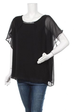 Γυναικεία μπλούζα Grain De Malice, Μέγεθος XL, Χρώμα Μαύρο, Πολυεστέρας, Τιμή 22,21€