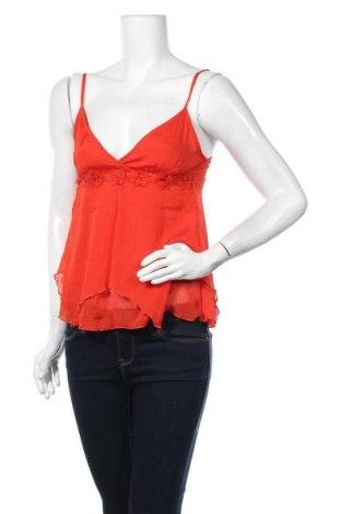 Дамска блуза H&M, Размер XS, Цвят Червен, Полиестер, Цена 2,00лв.