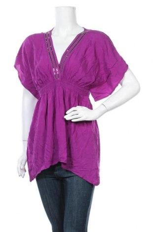 Дамска блуза H&M, Размер S, Цвят Розов, Вискоза, Цена 3,00лв.
