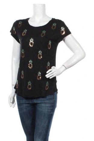 Дамска блуза H&M, Размер L, Цвят Черен, Цена 14,70лв.