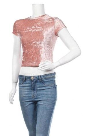Γυναικεία μπλούζα H&M Divided, Μέγεθος XS, Χρώμα Ρόζ , Τιμή 4,87€