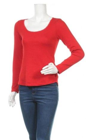 Γυναικεία μπλούζα H&M L.O.G.G., Μέγεθος M, Χρώμα Κόκκινο, 97% βαμβάκι, 3% ελαστάνη, Τιμή 10,39€