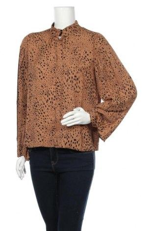 Γυναικεία μπλούζα In Wear, Μέγεθος S, Χρώμα Καφέ, Πολυεστέρας, Τιμή 16,29€