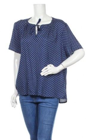 Γυναικεία μπλούζα Indiska, Μέγεθος XL, Χρώμα Μπλέ, Βισκόζη, Τιμή 10,49€