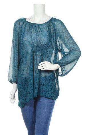 Γυναικεία μπλούζα Indiska, Μέγεθος XL, Χρώμα Μπλέ, Πολυεστέρας, Τιμή 9,87€