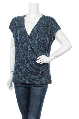 Γυναικεία μπλούζα Indiska, Μέγεθος XL, Χρώμα Μπλέ, 95% βισκόζη, 5% ελαστάνη, Τιμή 11,72€