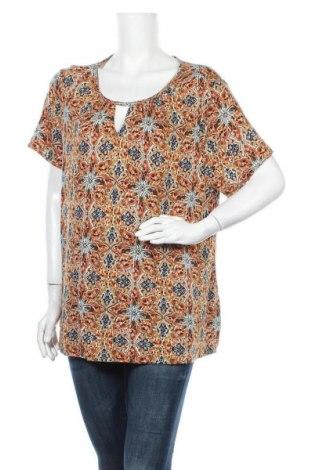 Γυναικεία μπλούζα Indiska, Μέγεθος L, Χρώμα Πολύχρωμο, Βισκόζη, Τιμή 5,36€
