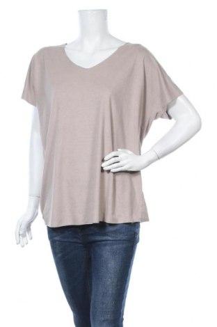 Γυναικεία μπλούζα Infinity Woman, Μέγεθος L, Χρώμα  Μπέζ, 95% πολυεστέρας, 5% ελαστάνη, Τιμή 9,09€