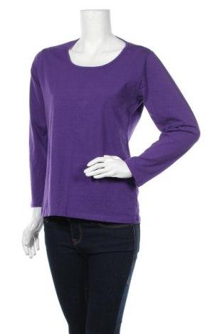 Γυναικεία μπλούζα Infinity Woman, Μέγεθος XL, Χρώμα Βιολετί, 92% βαμβάκι, 8% ελαστάνη, Τιμή 9,87€