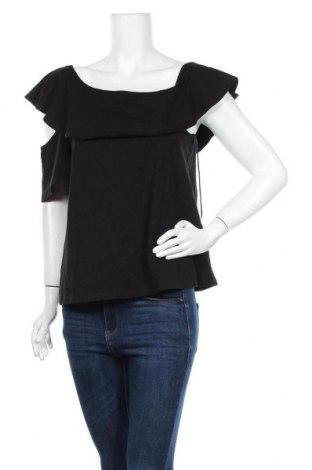 Γυναικεία μπλούζα J.Crew, Μέγεθος L, Χρώμα Μαύρο, 94% βαμβάκι, 6% ελαστάνη, Τιμή 46,18€