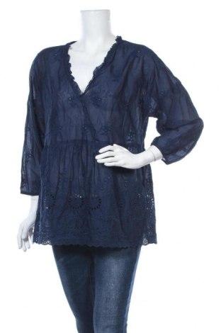 Γυναικεία μπλούζα J.Jill, Μέγεθος M, Χρώμα Μπλέ, Βαμβάκι, Τιμή 4,09€