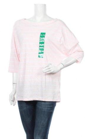 Γυναικεία μπλούζα Jacob, Μέγεθος XL, Χρώμα Ρόζ , 60% βαμβάκι, 40% μοντάλ, Τιμή 5,00€