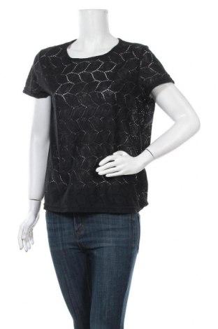 Γυναικεία μπλούζα Jacqueline De Yong, Μέγεθος XL, Χρώμα Μαύρο, Πολυεστέρας, Τιμή 11,69€