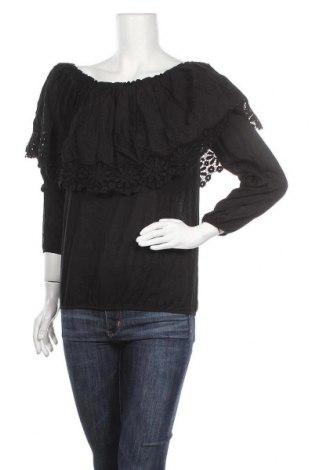 Дамска блуза Jacqueline Riu, Размер L, Цвят Черен, Цена 13,97лв.