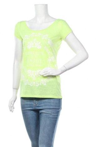 Γυναικεία μπλούζα Janina, Μέγεθος S, Χρώμα Πράσινο, 85% πολυεστέρας, 15% λινό, Τιμή 10,39€