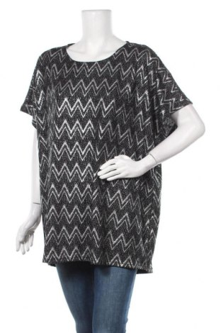 Γυναικεία μπλούζα Janina, Μέγεθος XL, Χρώμα Ασημί, 95% πολυεστέρας, 5% ελαστάνη, Τιμή 18,19€