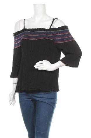 Γυναικεία μπλούζα Jeanswest, Μέγεθος L, Χρώμα Μαύρο, Βισκόζη, Τιμή 11,69€